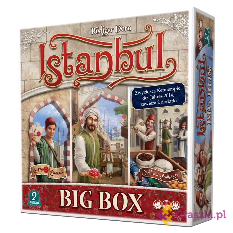 Istanbul Big Box // darmowa dostawa od 249.99 zł // wysyłka do 24 godzin! // odbiór osobisty w Opolu